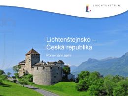 Lichtenštejnsko – Česká republika