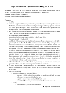 7. ledna 2015 - Římskokatolická farnost Odry