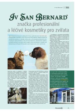 značka profesionální a léčivé kosmetiky pro zvířata