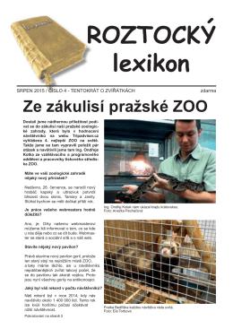 Roztocký lexikon 2015