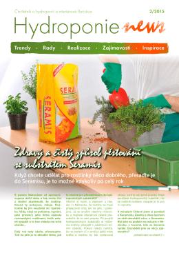 Zdravý a čistý způsob pěstování se substrátem Seramis