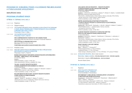 PROGRAM_kongres ČPFS a SPFS