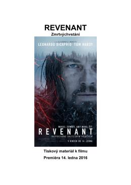 REVENANT - Cinemart.sk