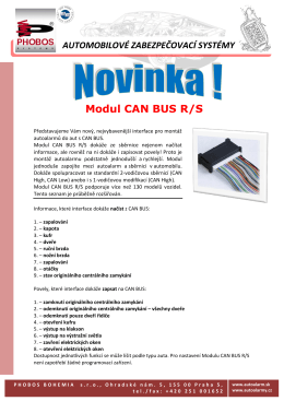 Modul CAN BUS R/S