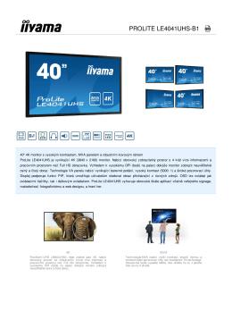 ProLite LE4041UHS-B1