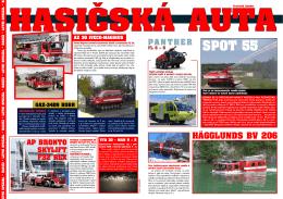hasičská aUta spOt 55
