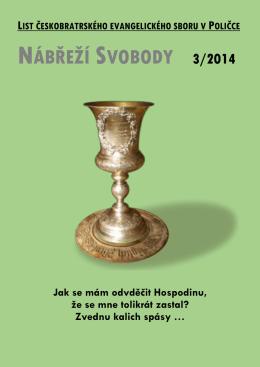 Nábřeží Svobody 2014/3  - Farní sbor ČCE Polička