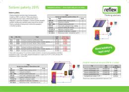 Solární pakety 2015