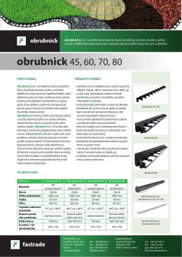 obrubnick 45 - FASTRADE sro