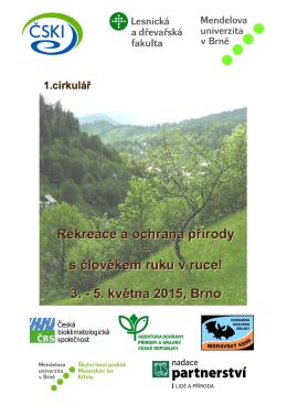 Rekreace a ochrana přírody – s člověkem ruku v ruce!