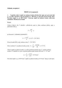 TEST č.1 (vzorový)