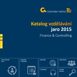 Katalog finance a controlling