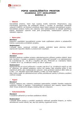 KCD13_Standardy kancelářských prostor_250107