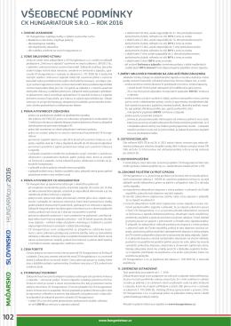 dokument PDF - Hungariatour