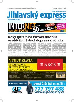 březen - Jihlavský express