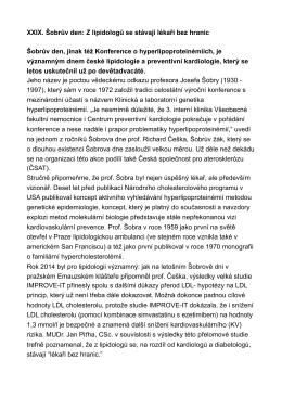 Článek s informacemi z odborného programu.