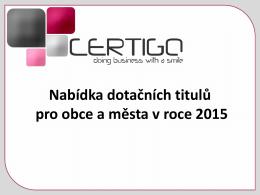 Operační program životní prostředí 2014-2020 (OPŽP)