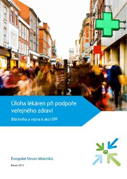Úloha lékáren pri podpore verejného zdraví