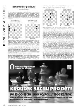 Článek  - Československý šach