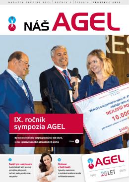 IX. ročník sympozia AGEL