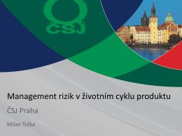 Hlavní přednáška ke konceptu ISO 9001:2015