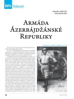 Armáda Ázerbájdžánské Republiky