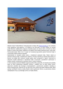 Základní škola Frýdek-Místek, Československé armády 570 (www