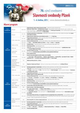 Program k tisku - Slavnosti svobody