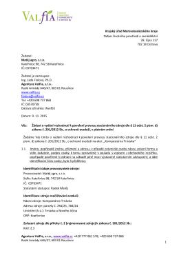 Agentura ValFia, sro, www.valfia.cz +420 777 081 578, +420 608