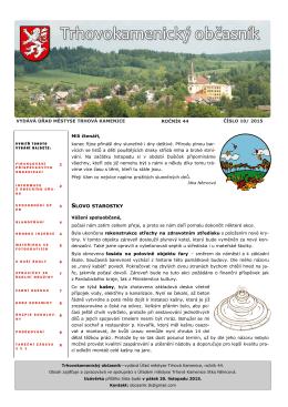 Listopad 2015 - Trhová Kamenice