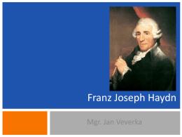 02 Franz Joseph Haydn