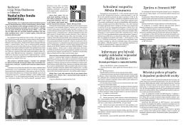 článek v BN 2015-04 - Nadační fond Hospital Broumov