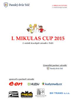 I. MIKULAS CUP 2015