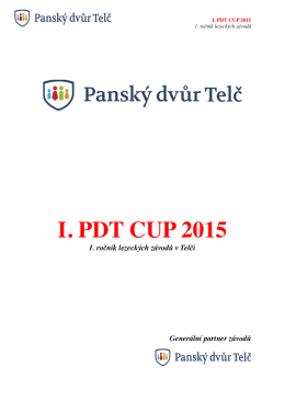 I. PDT CUP 2015