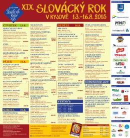 Programový plakát - Dům kultury Kyjov