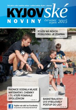 červenec/srpen 2015 - On-line vysílání / program