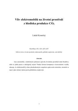Vliv_elektromobilu