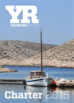 Yachting revue – Charter 2015