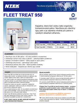 fleet treat 950 - N-tek