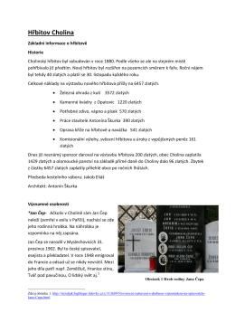 Hřbitov Cholina