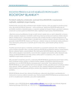 ROCKFON® BLANKATM