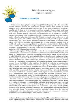 Ohlédnutí za rokem 2014 - Dětské centrum Kyjov | dckyjov.cz
