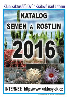 zde - Klub kaktusářů Dvůr Králové nad Labem