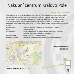 Nákupní centrum Královo Pole