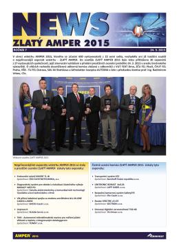 NEWS Zlatý Amper 2015