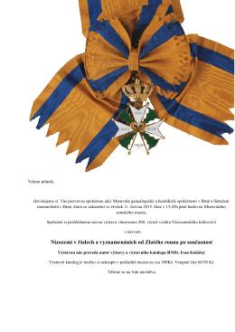 Nizozemí v řádech a vyznamenáních od Zlatého rouna po současnost