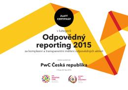 Odpovědný reporting 2015