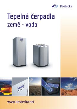 Prospekt tepelná čerpadla země-voda