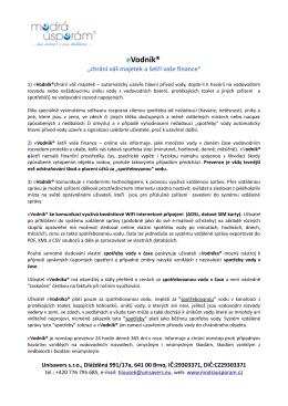 info eVodník