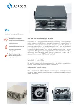Silný, efektivní a cenově dostupný ventilátor